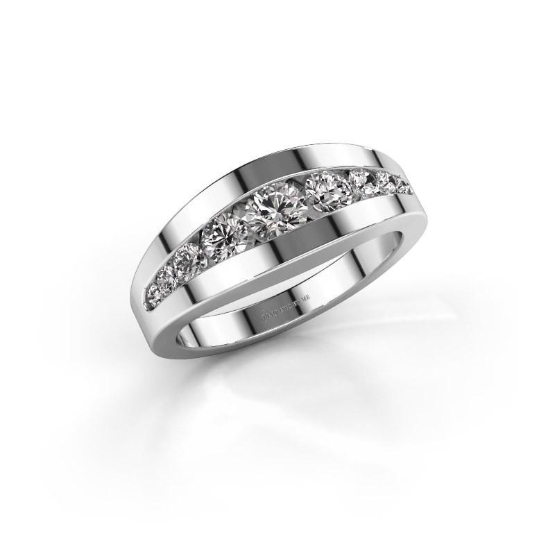 Ring Oneida 925 silver diamond 0.71 crt