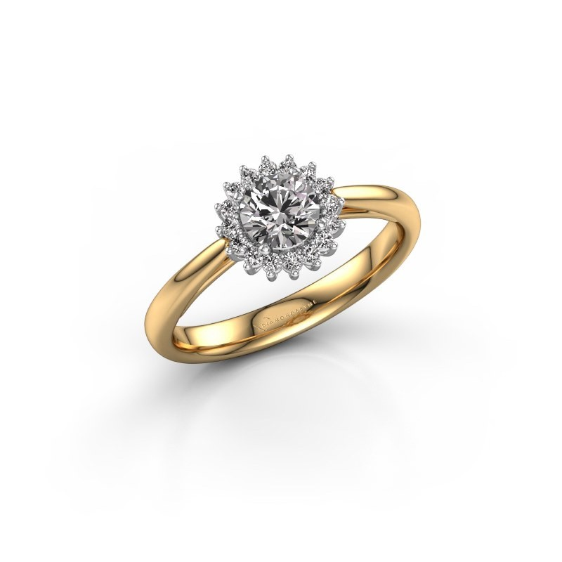 Engagement ring Tilly RND 1 585 gold diamond 0.50 crt