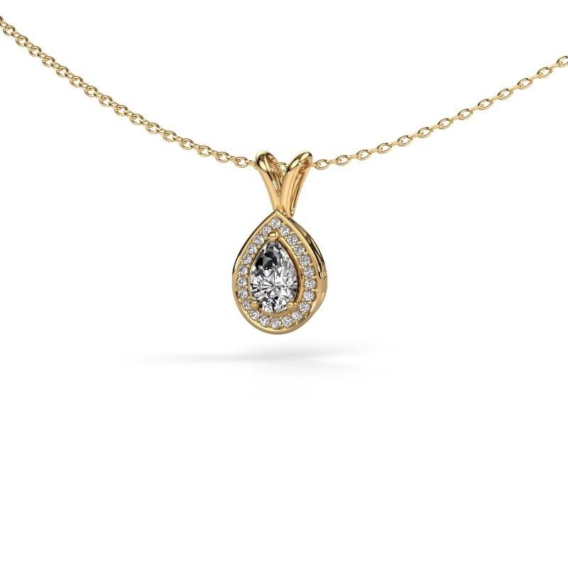 exklusiver gold kette mit crt diamant ginger selbst gestalten. Black Bedroom Furniture Sets. Home Design Ideas