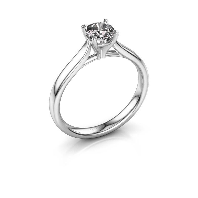 Verlovingsring Mignon cus 1 950 platina lab-grown diamant 0.50 crt