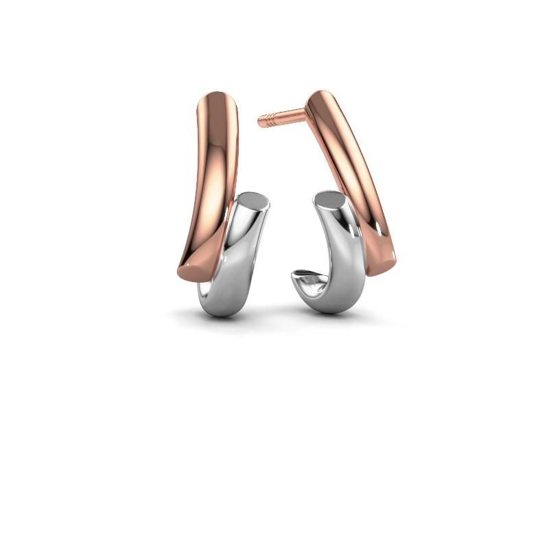 Earrings Mare 585 rose gold