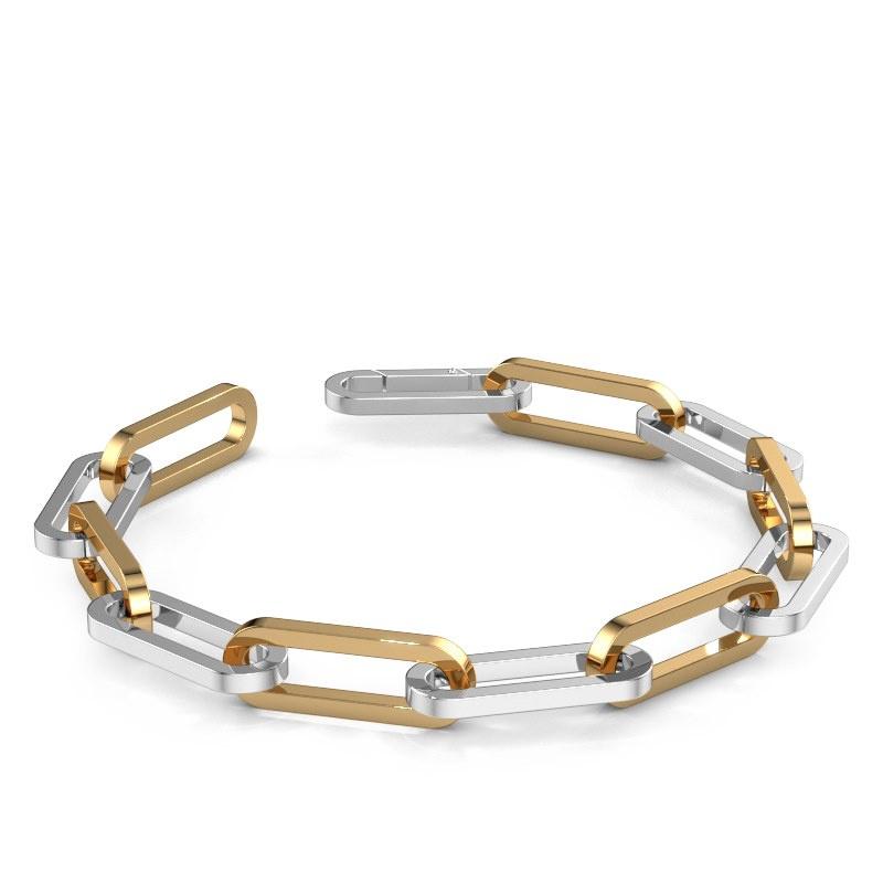 CFE Armband ±12 mm 585 Weißgold