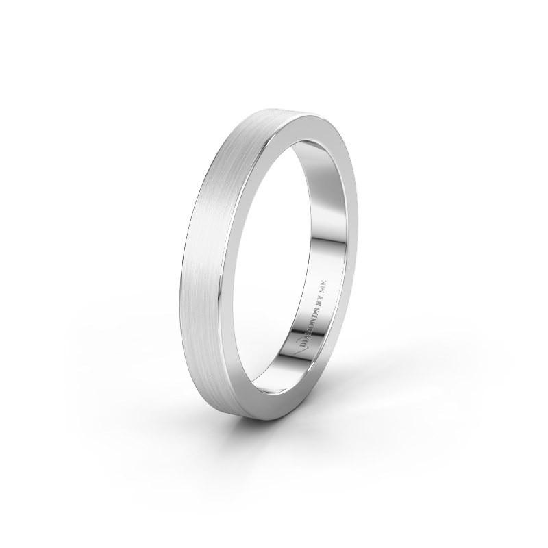 Wedding ring WH2140M15B 925 silver ±4x2 mm