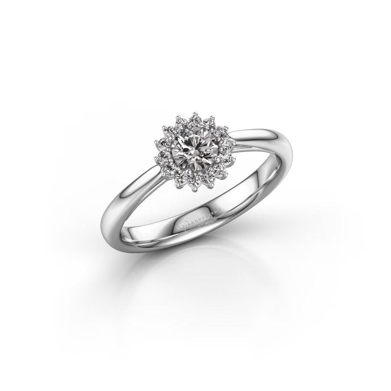 Engagement ring Tilly RND 1 585 white gold diamond 0.25 crt