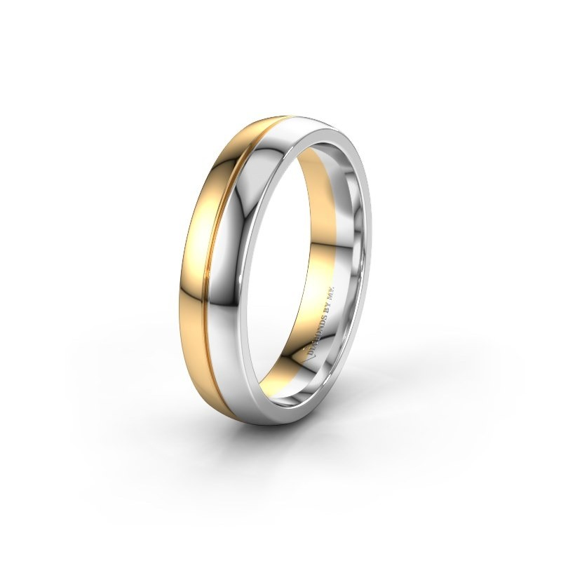 Wedding ring WH0200M25BP 585 gold ±0.20x0.08 in