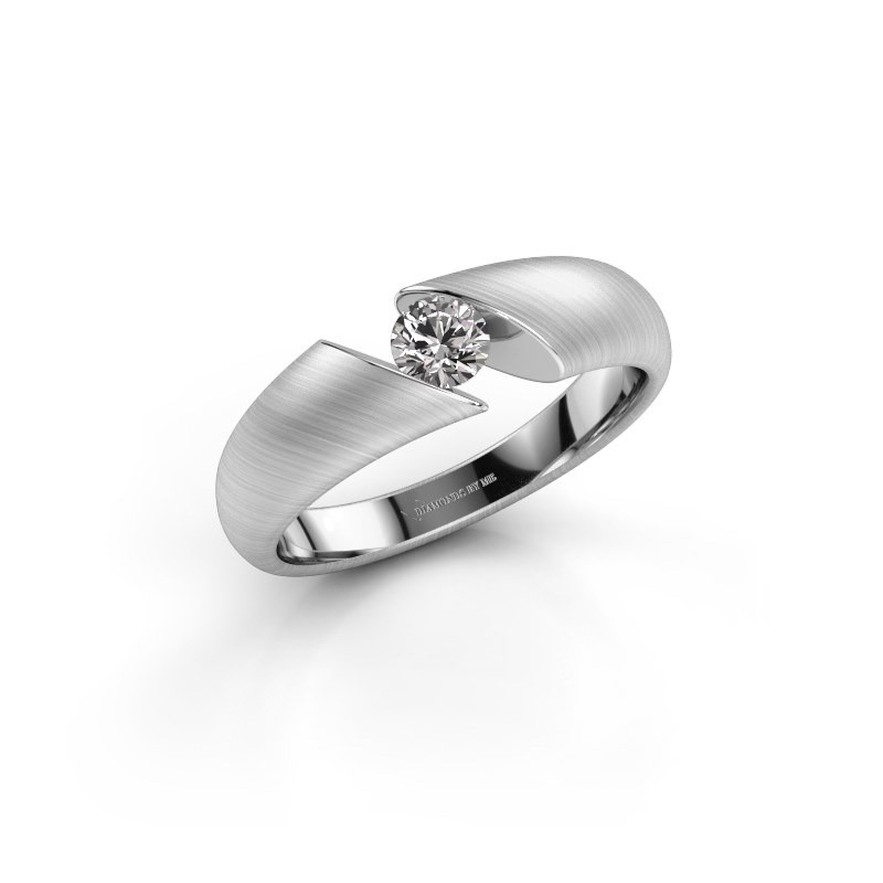 Verlovingsring Hojalien 1 950 platina lab-grown diamant 0.25 crt