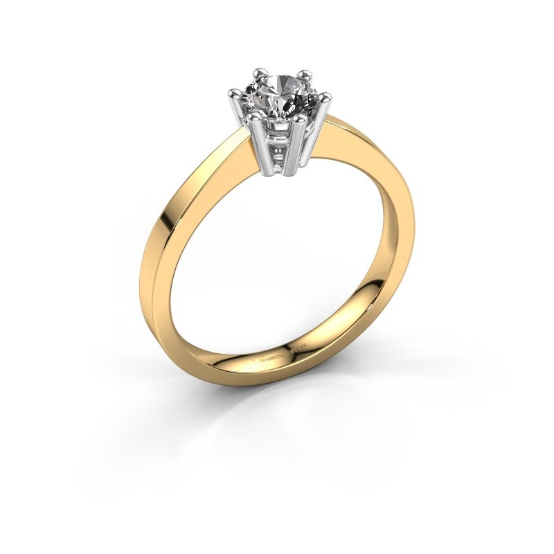 Verlobungsring Noortje 585 Gold Diamant 0.50 crt