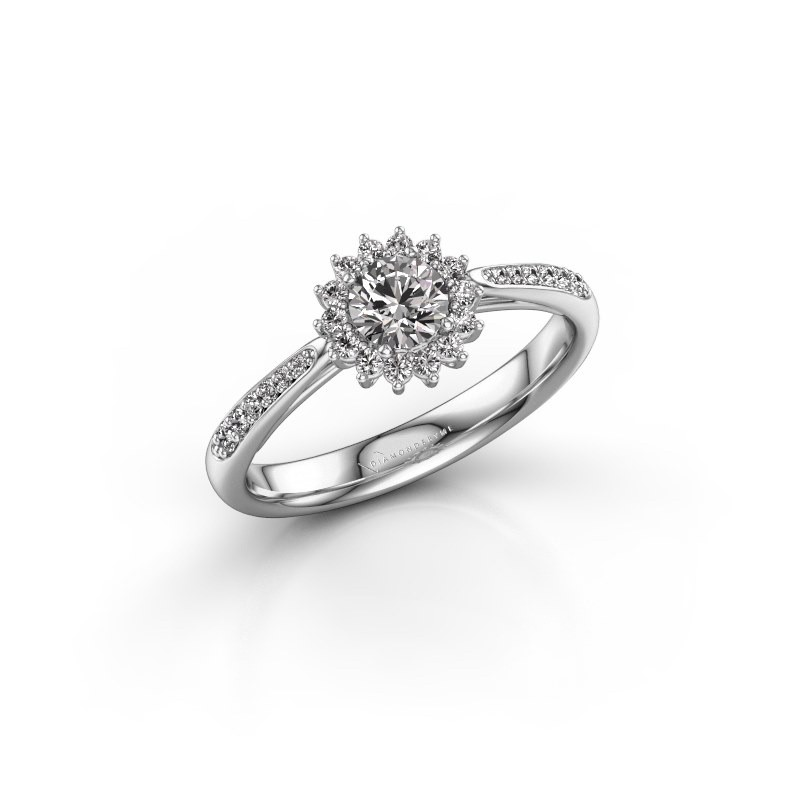 Engagement ring Tilly RND 2 585 white gold diamond 0.30 crt