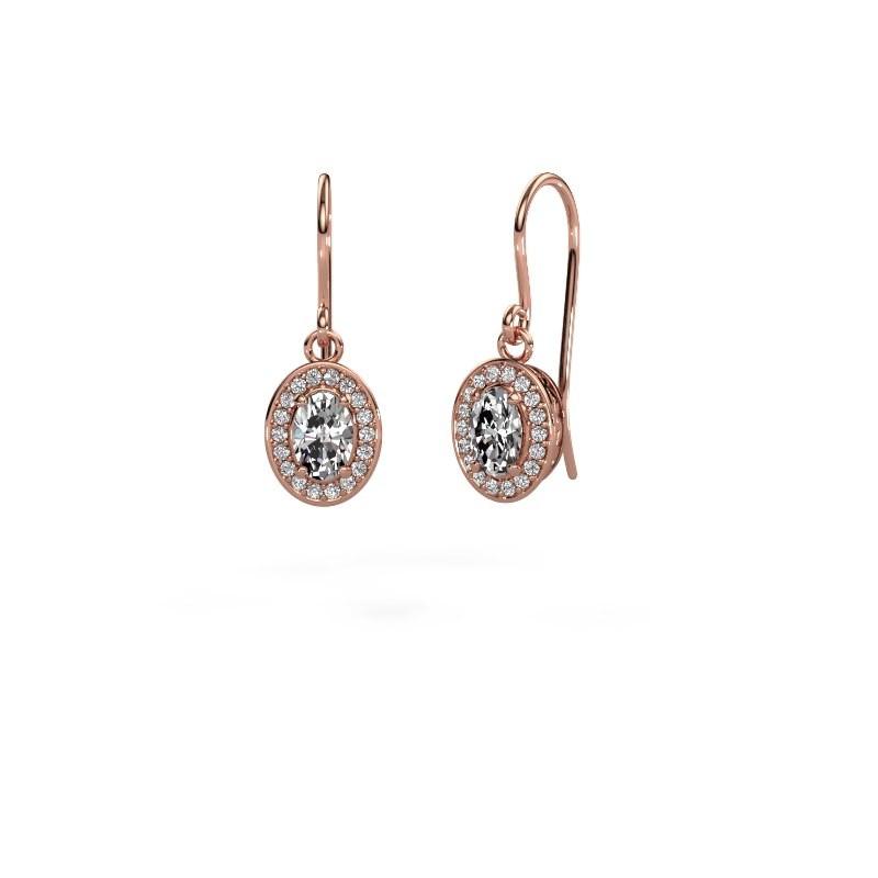 Ohrhänger Latesha 375 Roségold Diamant 1.241 crt