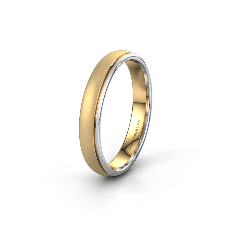 Wedding ring WH0500M34AM 585 gold ±4x1.7 mm