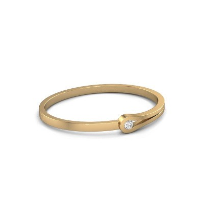 Bangle Kiki 585 gold diamond 0.40 crt