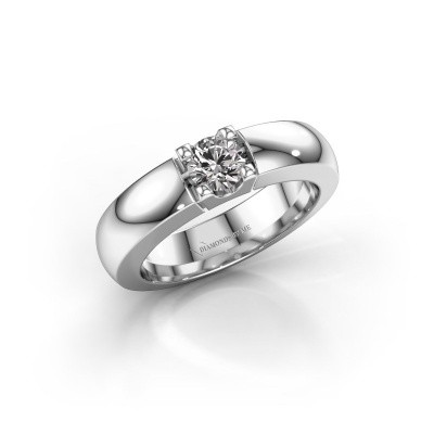 Engagement ring Rianne 1 925 silver diamond 0.40 crt