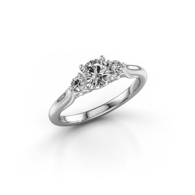 Picture of Engagement ring Laurian RND 585 white gold diamond 0.70 crt