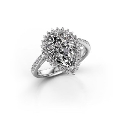 Foto van Verlovingsring Chere 2 950 platina diamant 3.00 crt