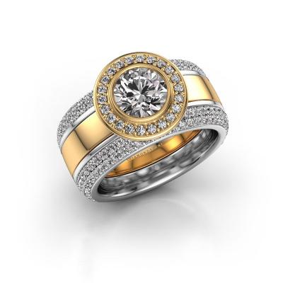 Foto van Ring Roxie 585 goud zirkonia 6.5 mm