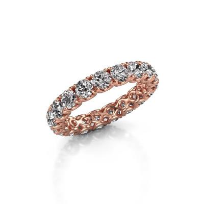 Foto van Aanschuifring Estee 3.4 375 rosé goud lab-grown diamant 2.700 crt