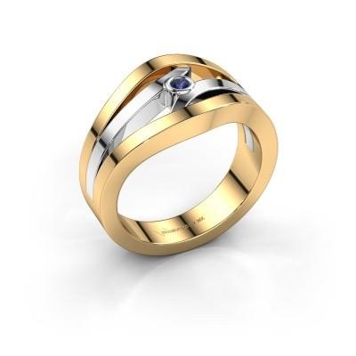 Ring Carlijn 585 Gold Saphir 2 mm