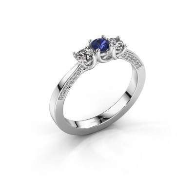 Picture of Engagement ring Rivka 585 white gold sapphire 3.4 mm