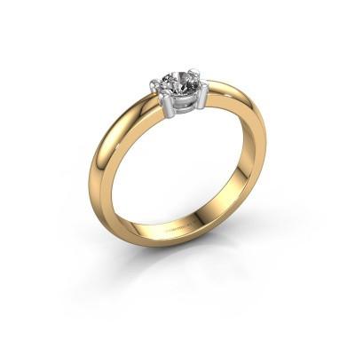 Foto van Verlovingsring Michelle 1 585 goud diamant 0.25 crt