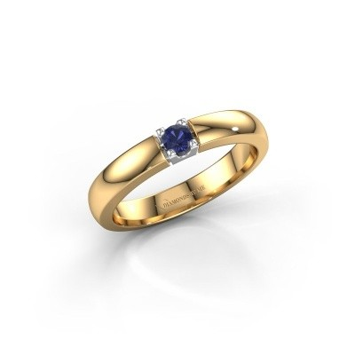 Engagement ring Rianne 1 585 gold sapphire 3 mm