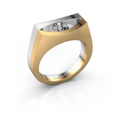 Ring Milou 585 gold diamond 0.50 crt