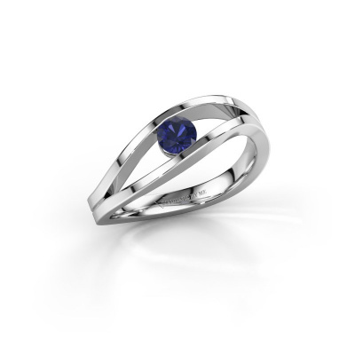 Picture of Ring Sigrid 1 925 silver sapphire 4 mm