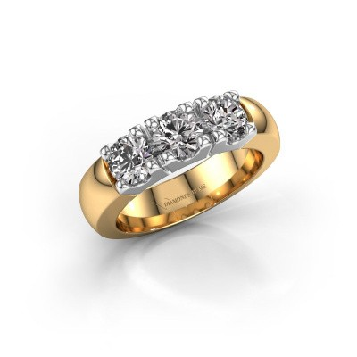 Picture of Engagement ring Rianne 3 585 gold diamond 1.50 crt