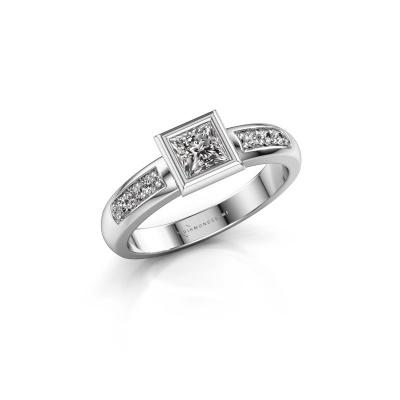 Steckring Lieke Square 925 Silber Lab-grown Diamant 0.52 crt