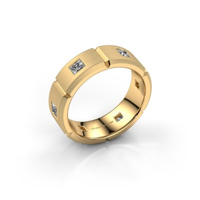 Foto van Heren ring Steve 585 goud diamant 1.02 crt