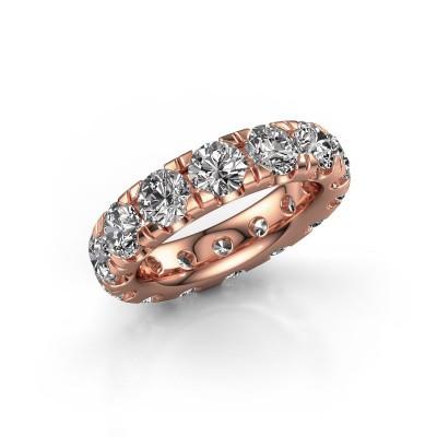 Foto van Aanschuifring Jackie 4.7 375 rosé goud lab-grown diamant 5.60 crt