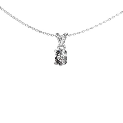 Picture of Necklace Lucy 1 950 platinum diamond 0.80 crt
