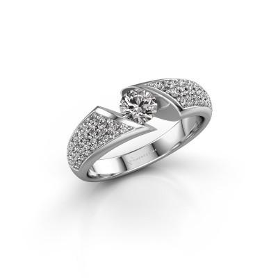 Foto van Ring Hojalien 3 925 zilver diamant 0.848 crt
