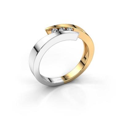 Bild von Ring Gracia 585 Gold Diamant 0.24 crt