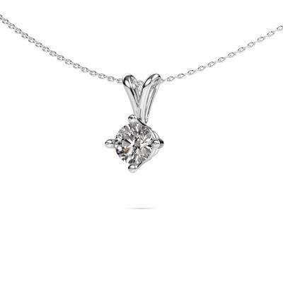 Foto van Ketting Jannette 925 zilver diamant 1.00 crt