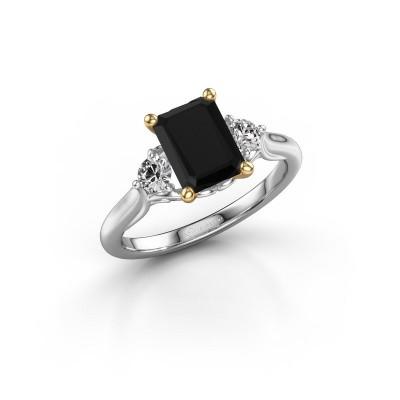 Foto van Verlovingsring Laurian EME 585 witgoud zwarte diamant 2.34 crt