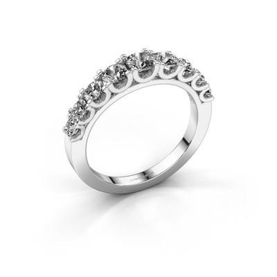 Foto van Verlovingsring Selina 4 585 witgoud lab-grown diamant 0.97 crt