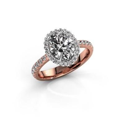 Verlovingsring Lavelle 585 rosé goud lab-grown diamant 2.292 crt