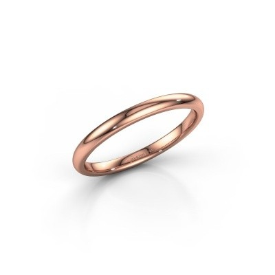 Stackable ring SR30B2 375 rose gold