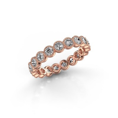 Foto van Ring Mariam 0.07 375 rosé goud lab-grown diamant 1.52 crt