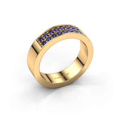Aanschuifring Catharina 5 585 goud saffier 1.7 mm