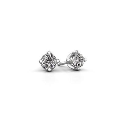 Foto van Oorknopjes Briana 950 platina lab-grown diamant 0.20 crt
