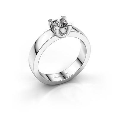 Foto van Verlovingsring Mozelle 925 zilver diamant 0.50 crt
