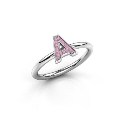 Ring Initial ring 070 375 white gold