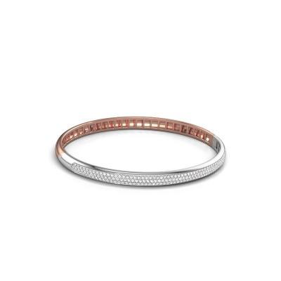 Foto van Armband Emely 5mm 585 rosé goud zirkonia 1.1 mm