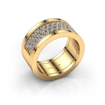 Foto van Ring Marita 7 585 goud diamant 0.82 crt