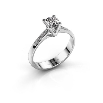 Promise ring Janna 2 585 white gold diamond 0.50 crt