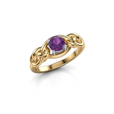 Picture of Ring Zoe 585 gold amethyst 5 mm
