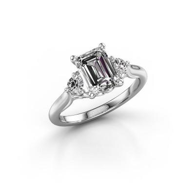 Foto van Verlovingsring Laurian EME 950 platina diamant 1.99 crt