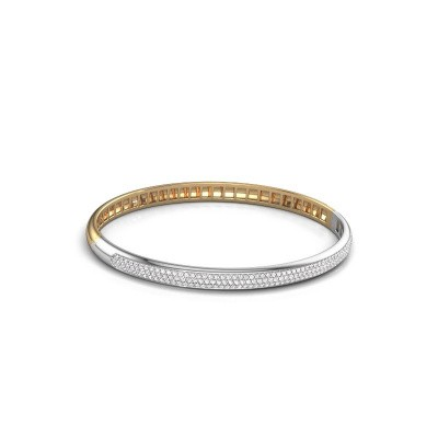 Armband Emely 5mm 585 goud lab-grown diamant 1.178 crt