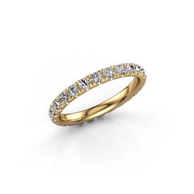 Foto van Ring Jackie 2.3 375 goud diamant 1.25 crt